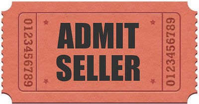 Car Boot Sale Seller Ticket